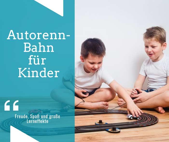 Autorennbahn Kinder depositphotos.com