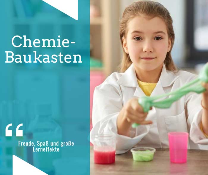 Experimentieren mit dem Chemiebaukasten depositphotos.com