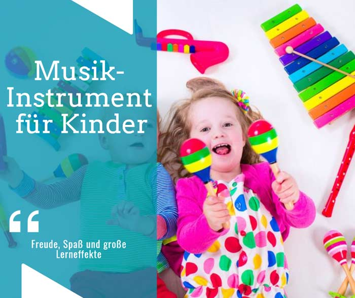 Musikinstrumente für Kinder depositphotos.com