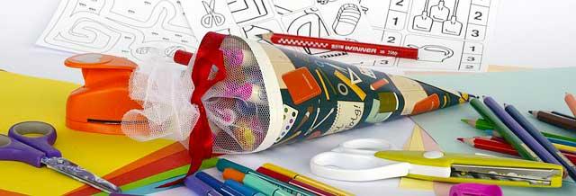 Schulsachen - Schultüte