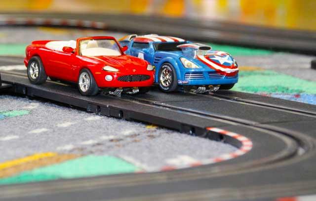 Autorennbahn für Kinder