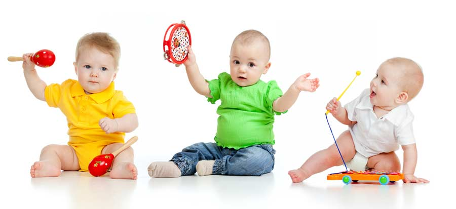 Baby Musik Lernspielzeug (depositphotos.com)